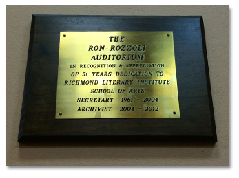 Richmond-school-of-arts-auditoriumplaque